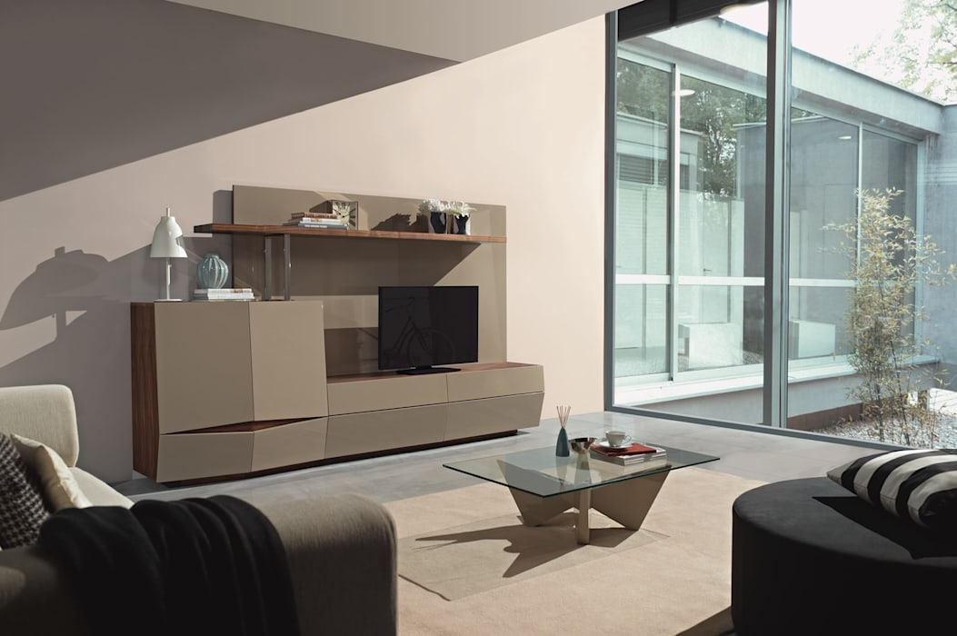 Mobiliário de sala de estar moderno Contemporary living room furniture www.intense-mobiliario.com BERLIN http://intense-mobiliario.com/pt/salas-de-estar/8568-sala-de-estar-berlin-b3.html Salas de estar modernas por Intense mobiliário e interiores; Moderno
