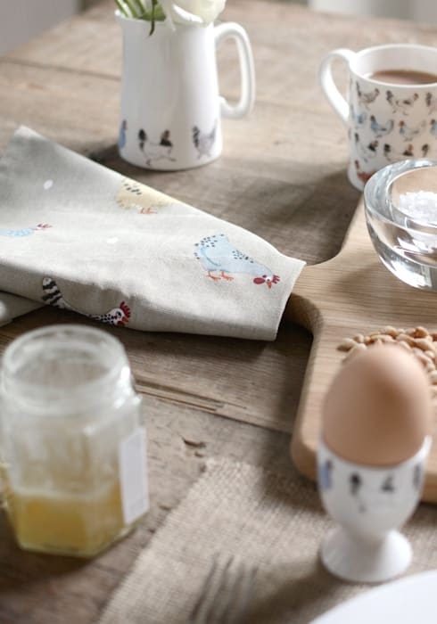 Sophie Allport's 'Lay a little egg' collection Sophie Allport KitchenCutlery, crockery & glassware Ceramic Beige