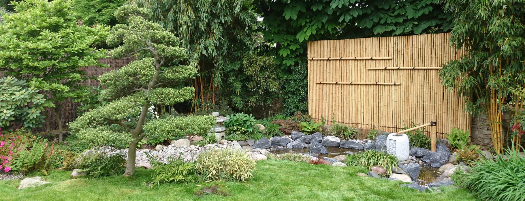 Jardin japonais bassin : jardin de style par jardin japonais | homify