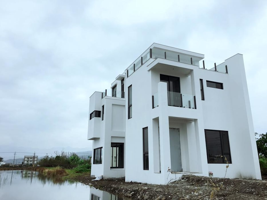 別墅施作中-記錄 光島室內設計 房子