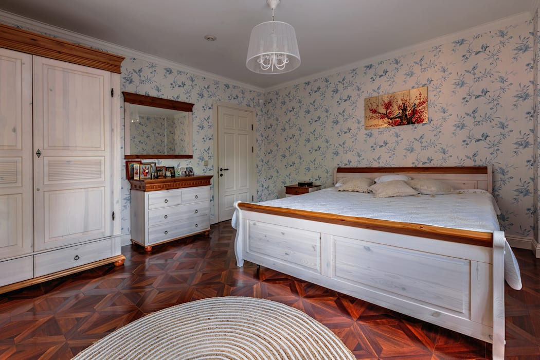 Дизайн бюро Оксаны Моссур Classic style bedroom White