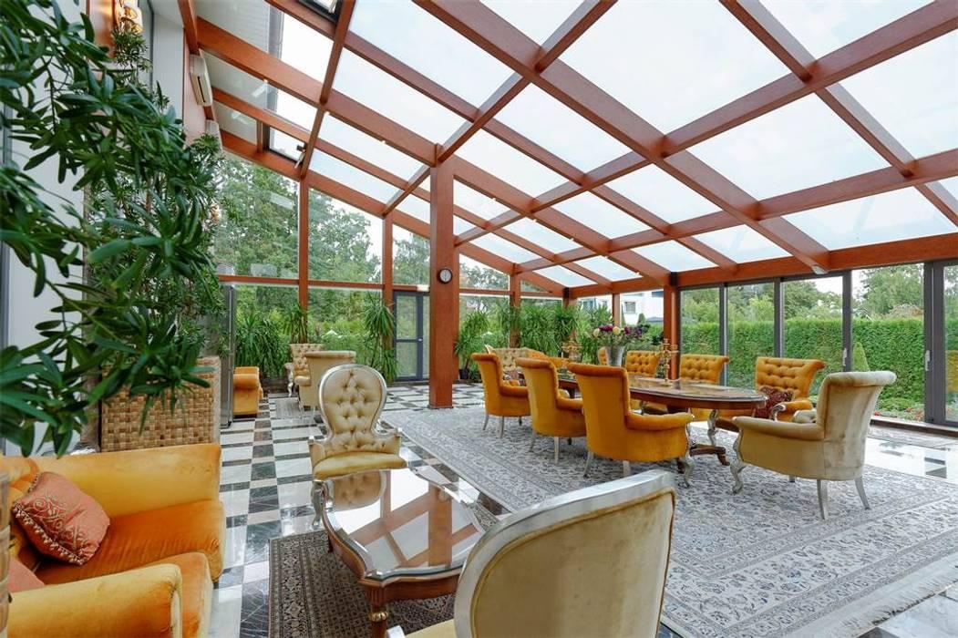 Inan AYDOGAN /IA  Interior Design Office – NG PALACE:  tarz Kış Bahçesi,