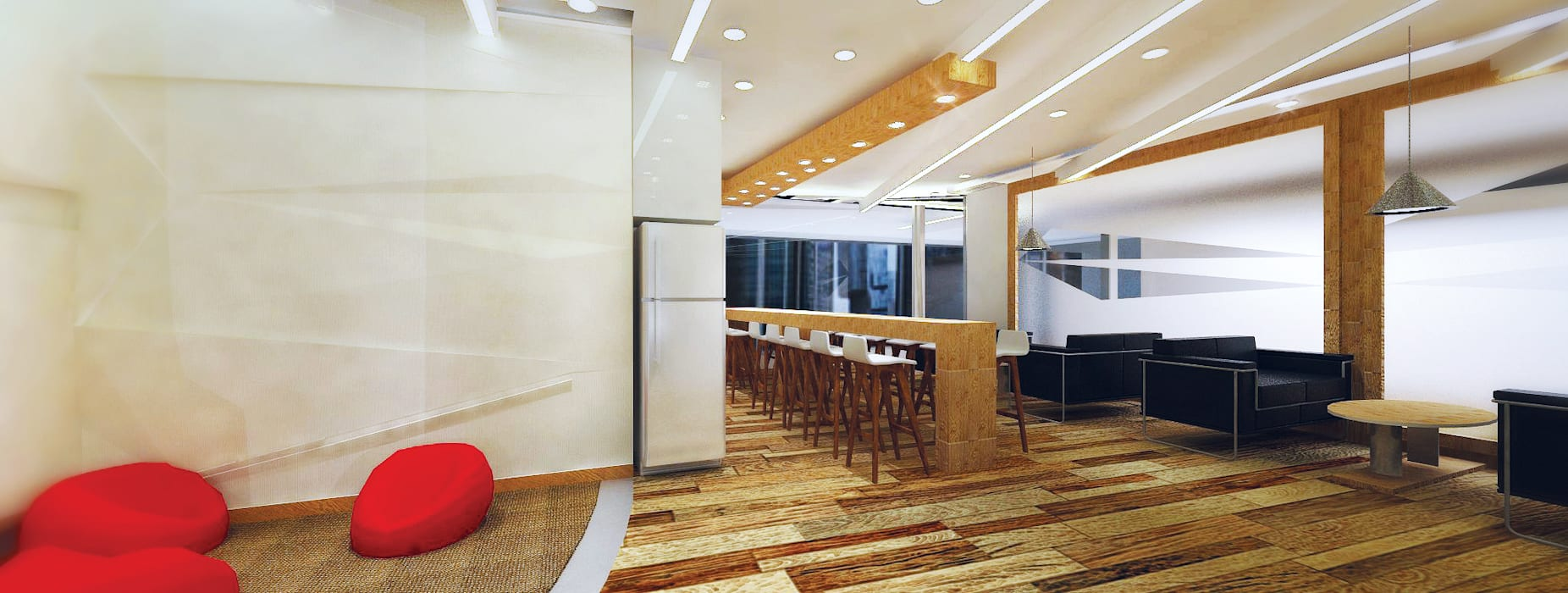 Pantry:  Study/office by Much Creative Communication Limited,