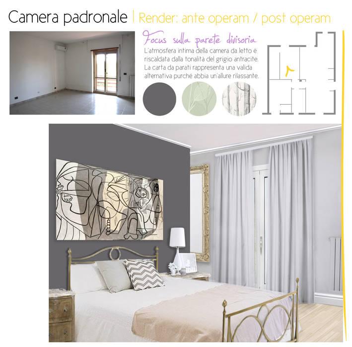 Prima e dopo: Camera da letto in stile in stile Classico di Dominus