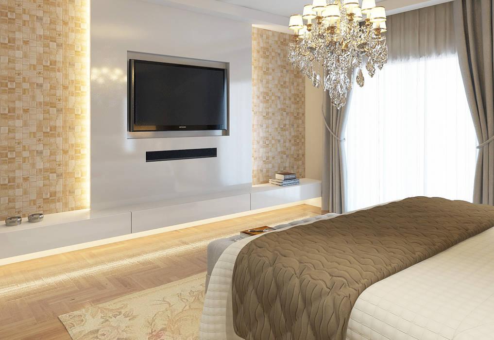 Dormitório Master: Quartos  por STUDIO GUTO MARTINS,Clássico