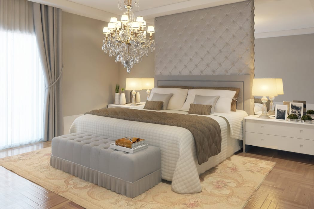 Classic style bedroom by STUDIO GUTO MARTINS Classic