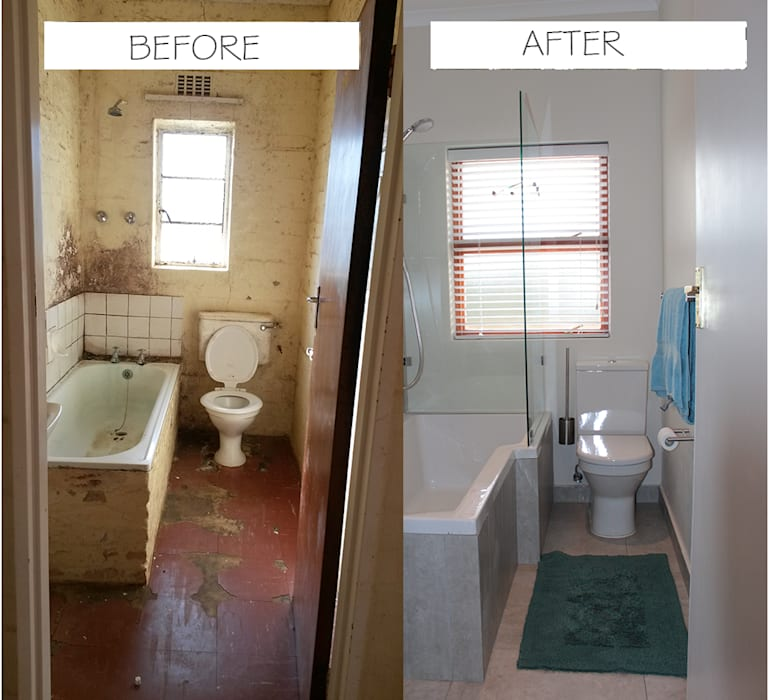 Before & After Classic style bathroom by Covet Design Classic