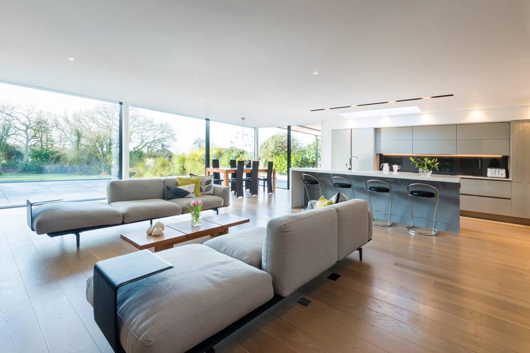 Phòng khách theo Barc Architects, Hiện đại