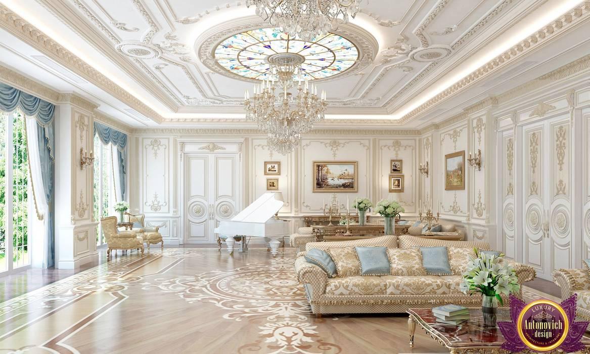 Ruang Keluarga Klasik Oleh Luxury Antonovich Design Klasik Homify