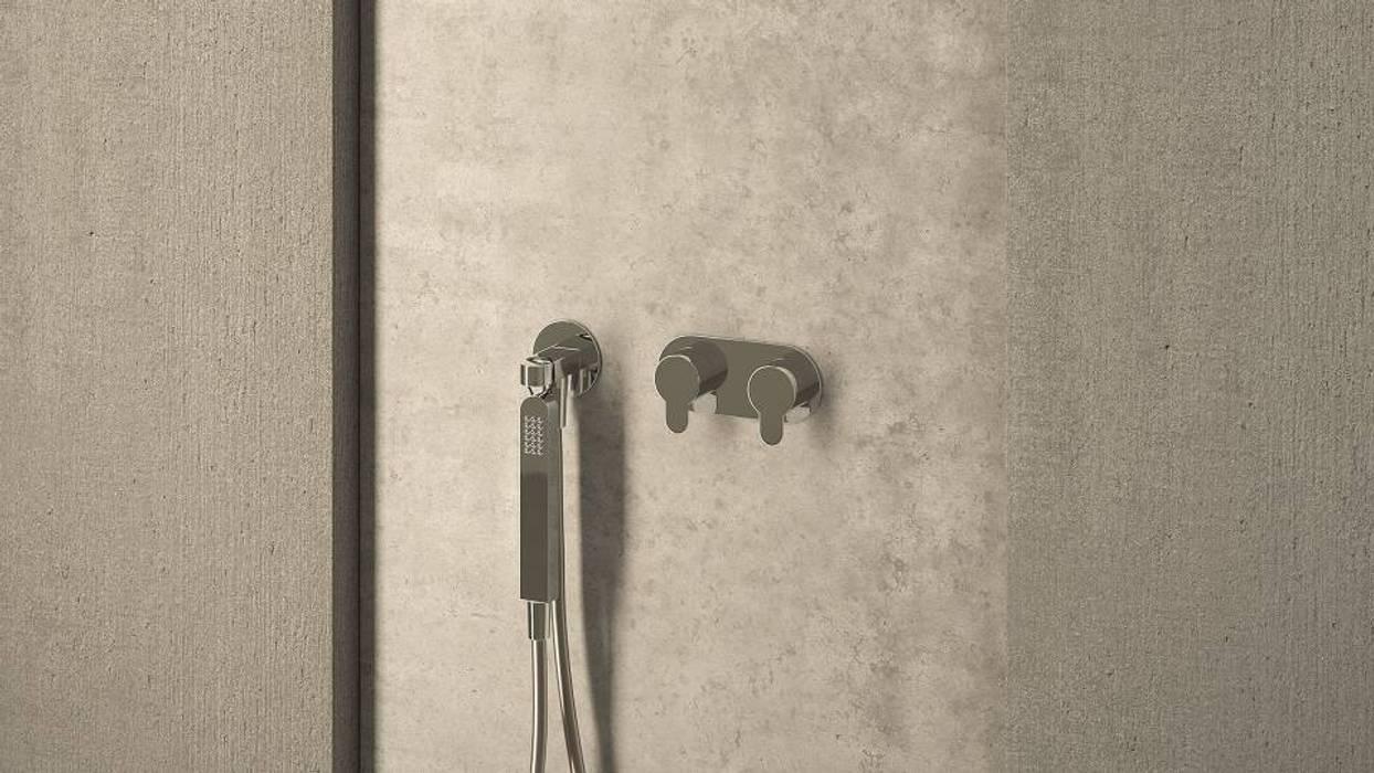 Torneiras Clip Casas de banho modernas por Water Evolution Moderno