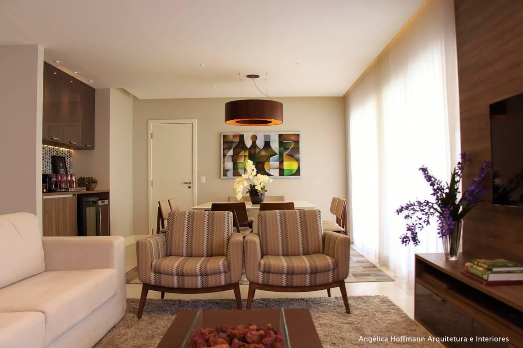 Angelica Hoffmann Arquitetura e Interiores Living room