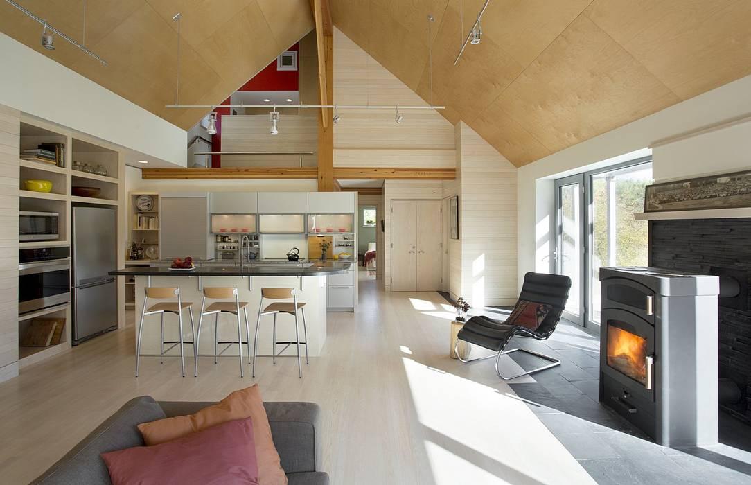 Kitchen ZeroEnergy Design Modern Kitchen Wood effect