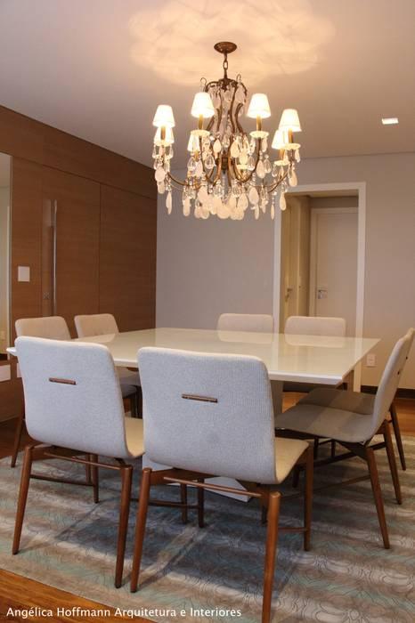 Paradiso Vila Mariana Salas de jantar modernas por Angelica Hoffmann Arquitetura e Interiores Moderno