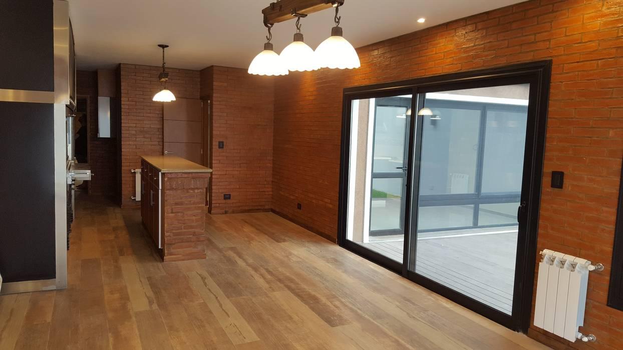 Arquitecto Oscar Alvarez Modern dining room