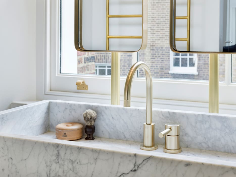 Islington House Eclectic style bathroom by Gundry & Ducker Architecture Eclectic