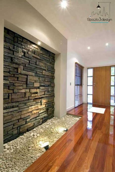 Spazio3Design Paredes y pisos modernos