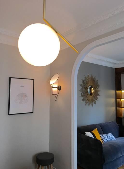 Salones de estilo ecléctico de Catherine Plumet Interiors Ecléctico