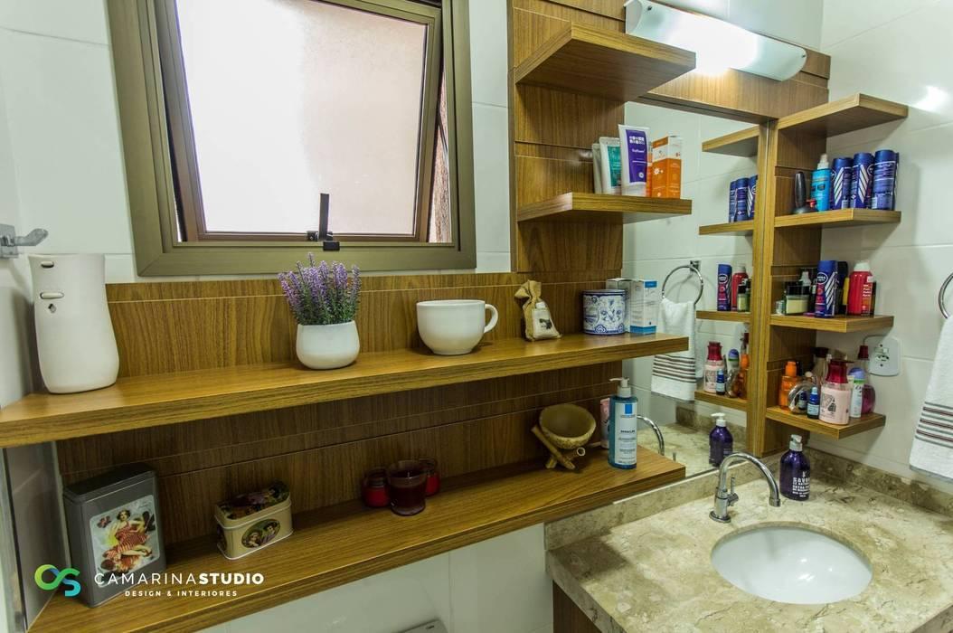 Rustic style bathroom by Camarina Studio Rustic