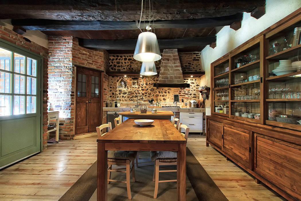 Portfolio cucina in stile di stefano pedroni homify - Sala da pranzo country ...