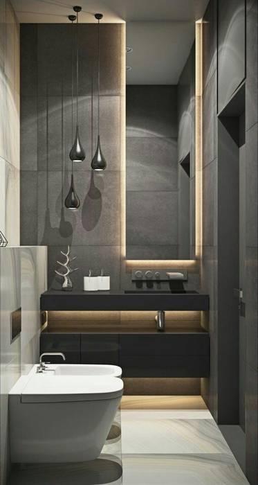 Bathroom Casas de banho modernas por No Place Like Home ® Moderno