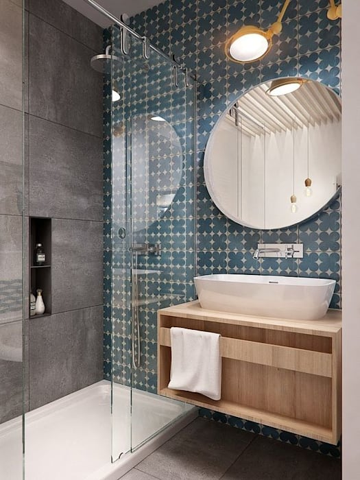 Modern style bathrooms by No Place Like Home ® Modern