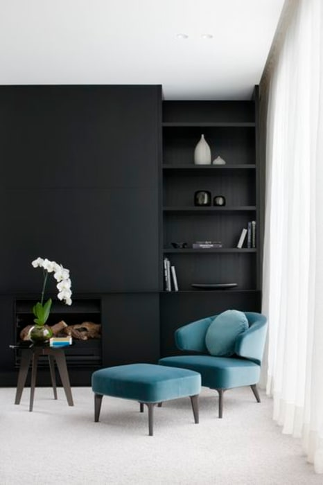 Reading Corner Salas de estar modernas por No Place Like Home ® Moderno