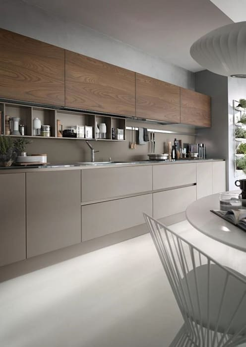 Kitchen Cozinhas modernas por No Place Like Home ® Moderno