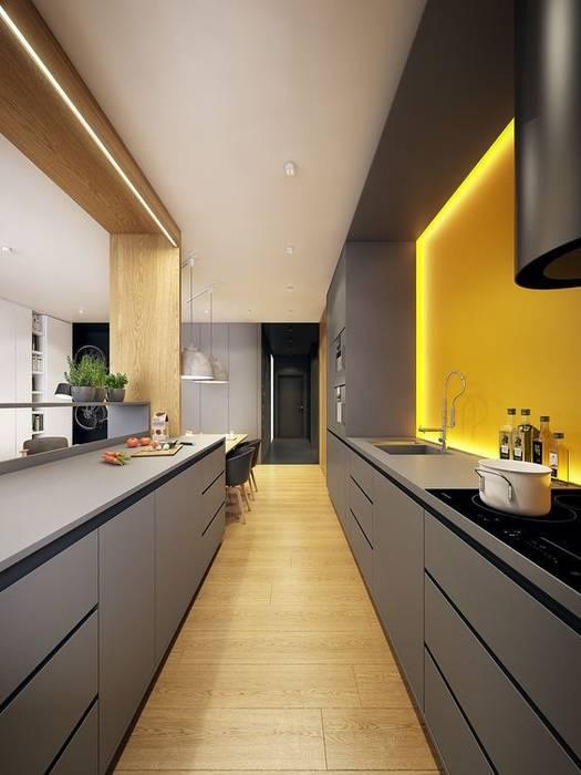 Kitchen Cozinhas modernas por No Place Like Home ® Moderno