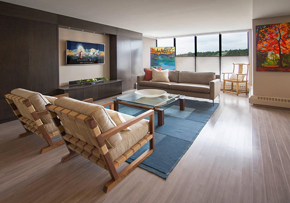 Living Room Salon moderne par Kevin Gray Interiors Moderne