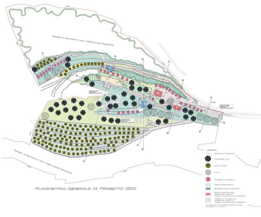 Struttura turistica ricettiva: Case in stile in stile Moderno di Fabrizio Alborno Studio di Architettura ALBORNO\GRILZ