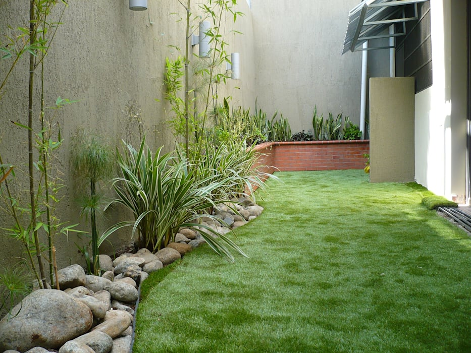 PRIVATE RESIDENCE - PANAMA CITY Minimalist style garden by TARTE LANDSCAPES Minimalist