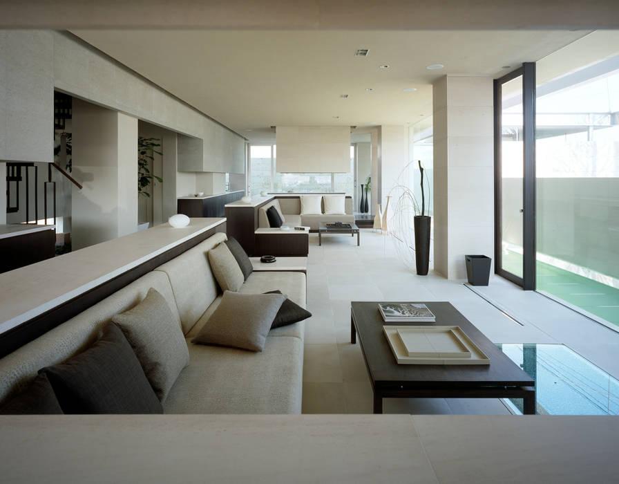 森裕建築設計事務所 / Mori Architect Office의  거실