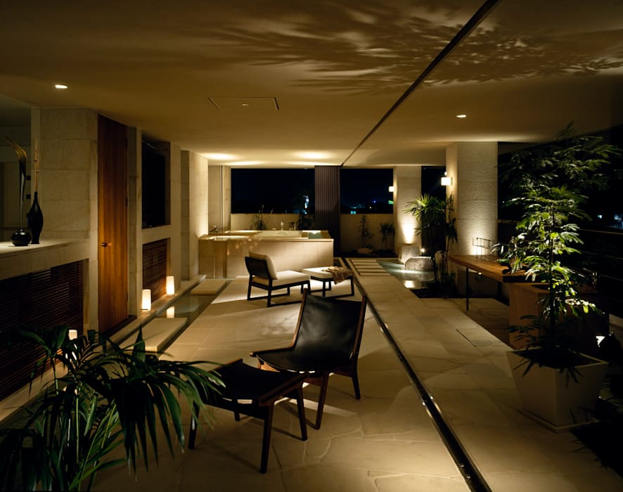 THE HOUSE OF MOLS: 森裕建築設計事務所 / Mori Architect Officeが手掛けたテラス・ベランダです。