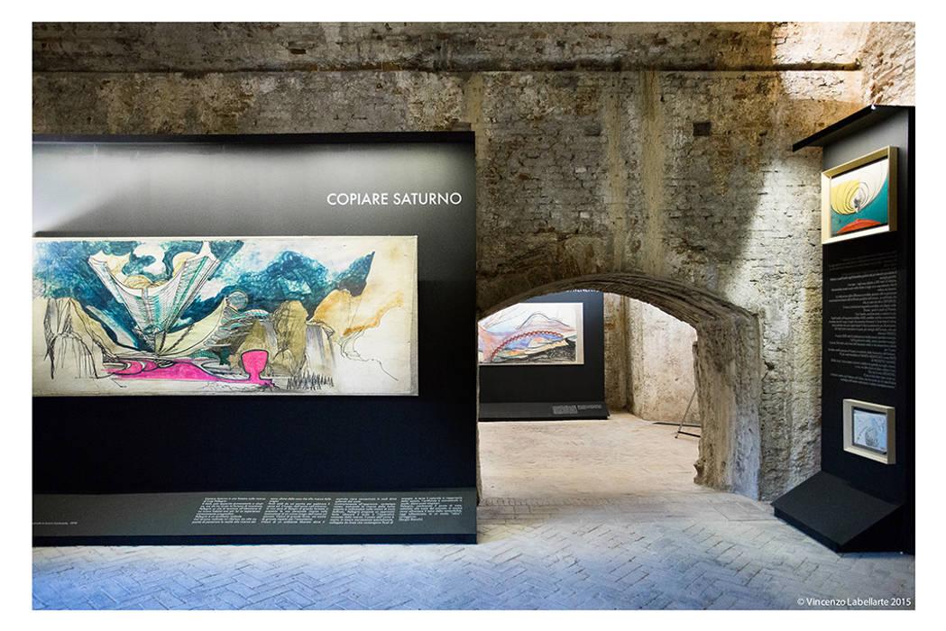 러스틱 스타일 박물관 by Studio Bianchi Architettura 러스틱 (Rustic)