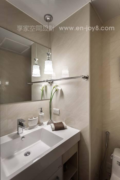 Salle de bains de style  par 享家空間設計