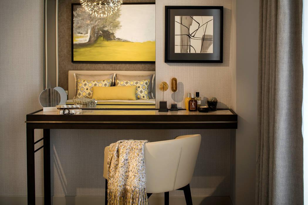 Makyol Santral Örnek Daire Ümit Okan Photography Modern Yatak Odası