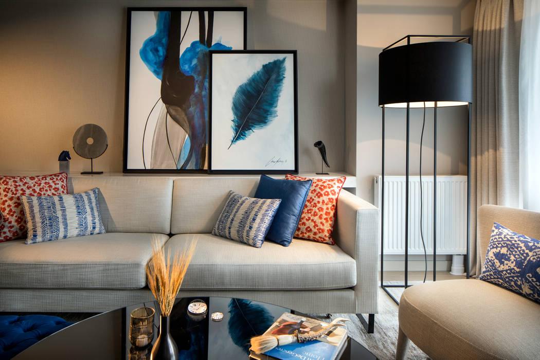 Makyol Santral Örnek Daire Ümit Okan Photography Modern Oturma Odası