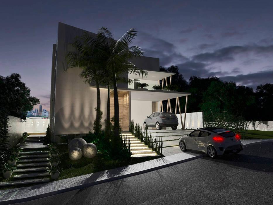 Larissa Vinagre Arquitetos Modern houses