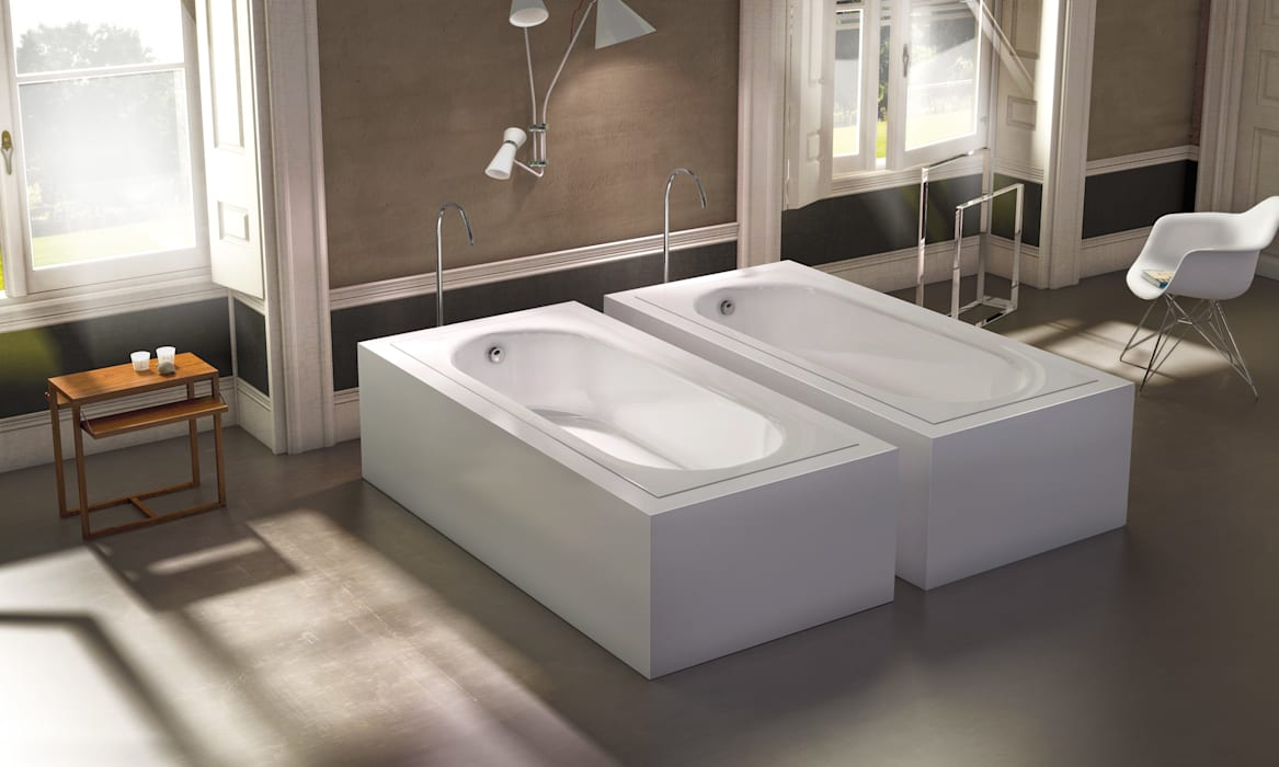 Uma é bom mas duas é ainda melhor: Casas de banho  por Water Evolution,