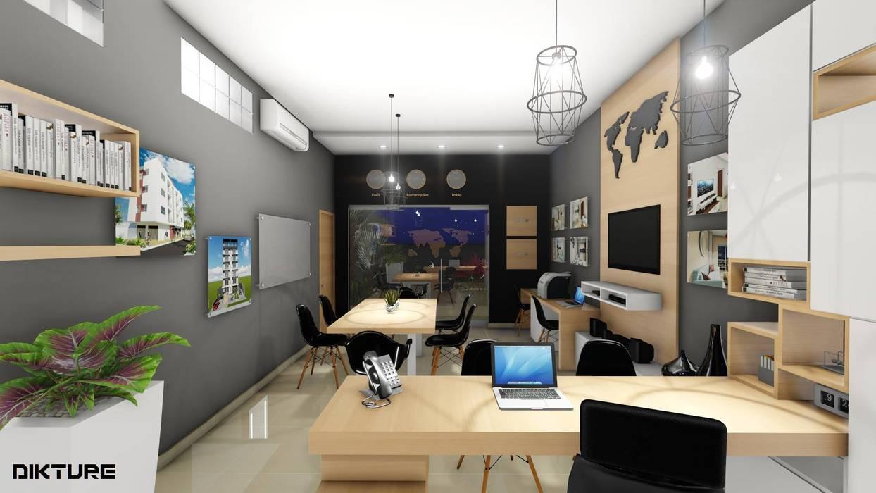 DIKTURE Arquitectura + Diseño Interior Moderne Geschäftsräume & Stores