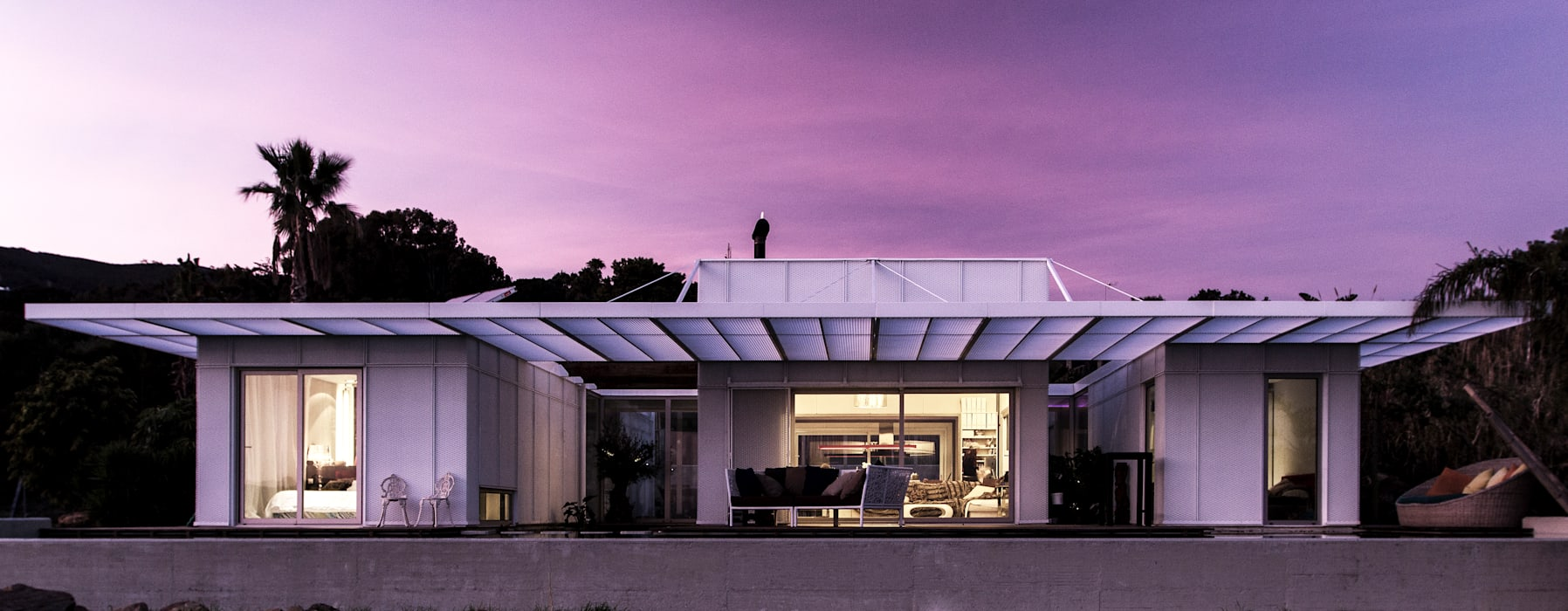 TARIFA HOUSE Casas modernas de james&mau Moderno Hierro/Acero