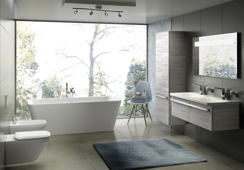homify BathroomSeating Ceramic