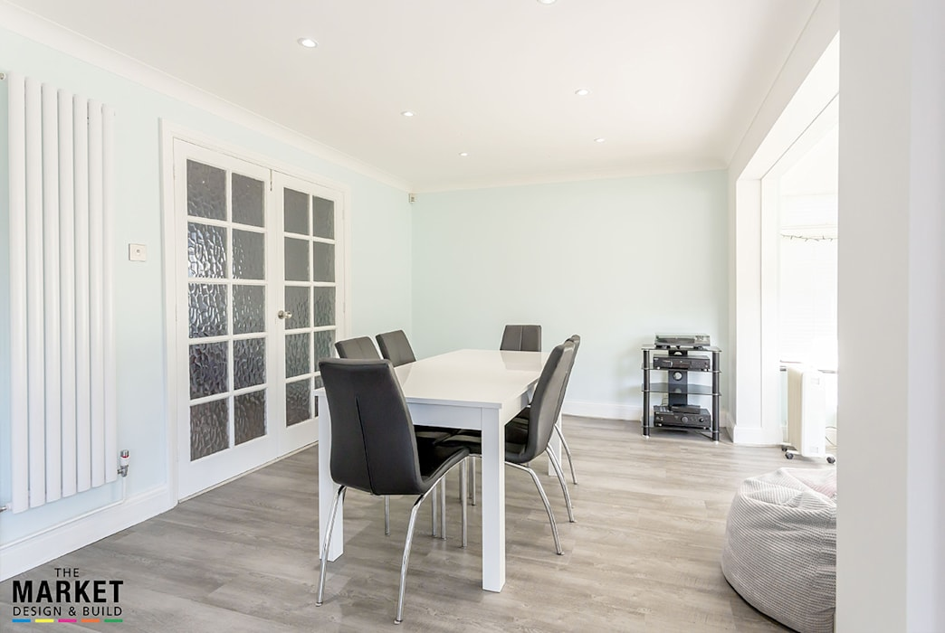 Dining room by The Market Design & Build, Modern