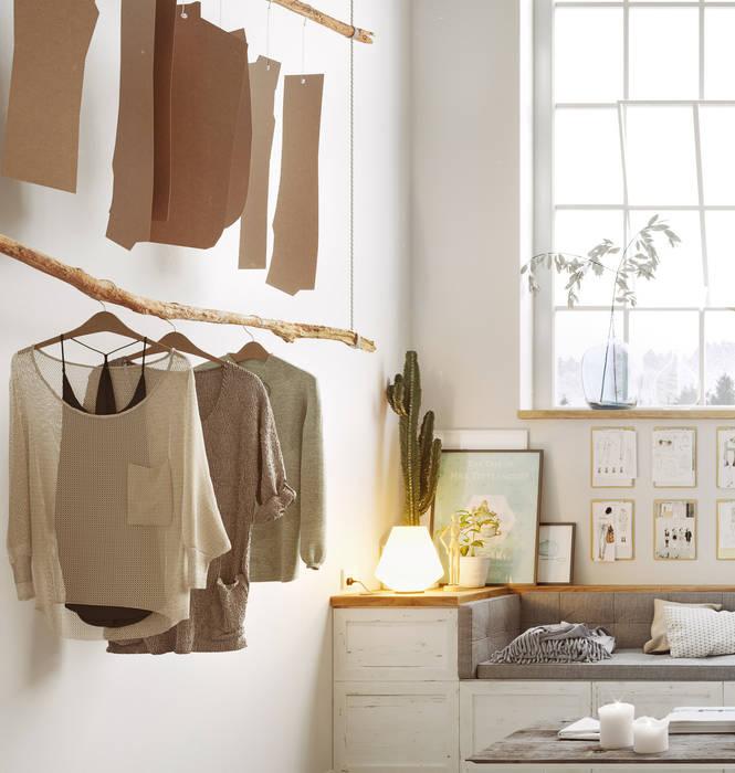 GN İÇ MİMARLIK OFİSİ – moda atölyesi:  tarz Giyinme Odası