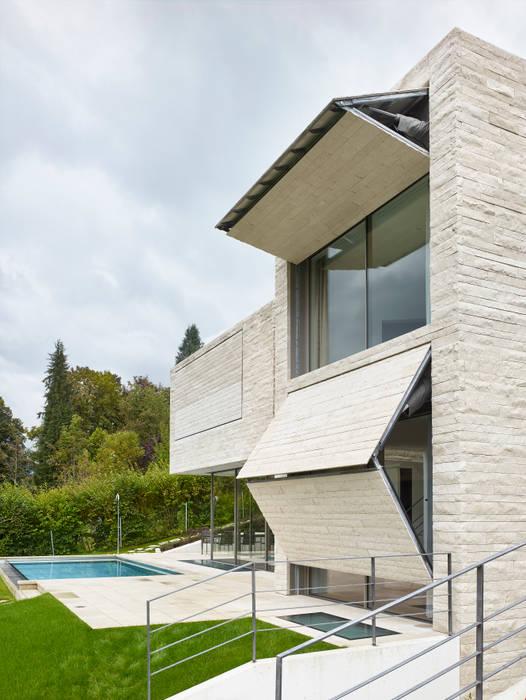 Houses By Backraum Architektur Modern Stone Homify