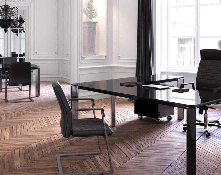 Scrivania Direzionali Iulio HG: Studio in stile in stile Moderno di Arredo Ufficio A.T.U