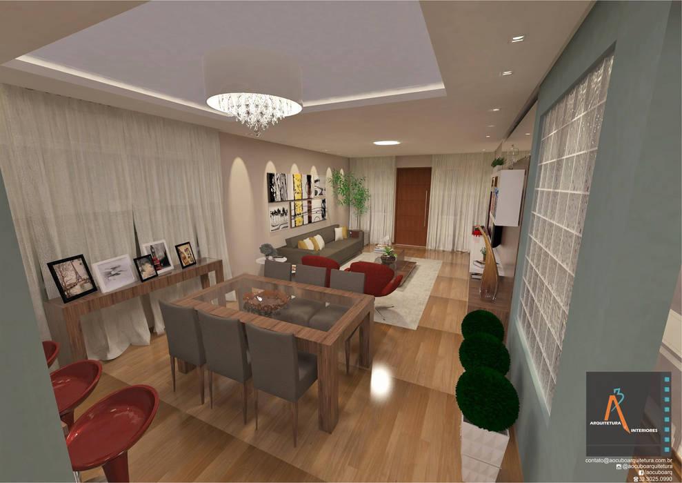 Modern Dining Room by Ao Cubo Arquitetura e Interiores Modern