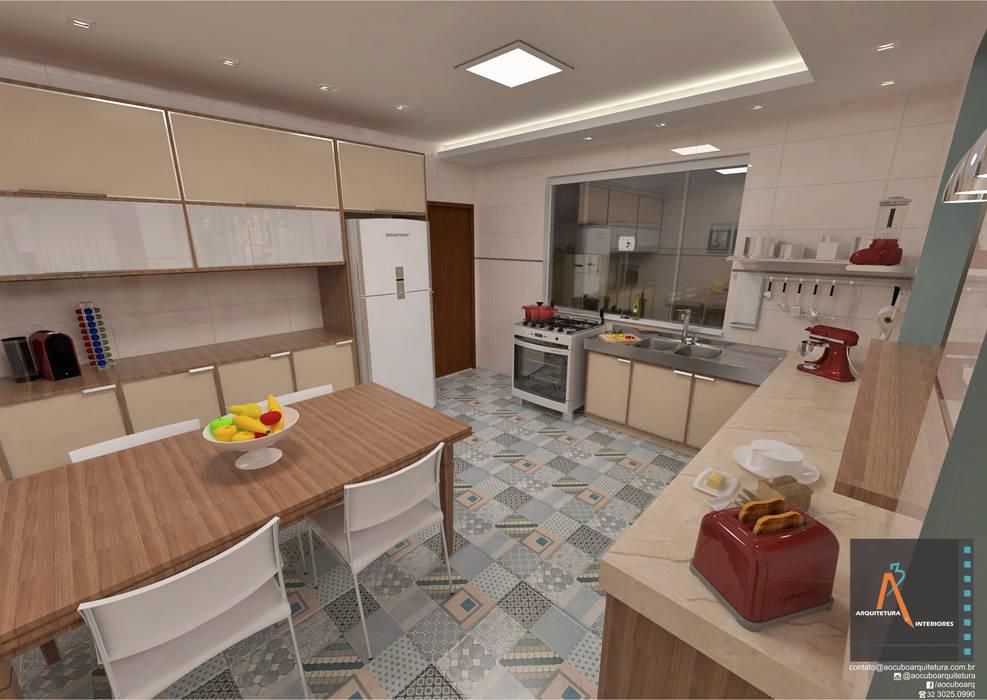 Modern Kitchen by Ao Cubo Arquitetura e Interiores Modern
