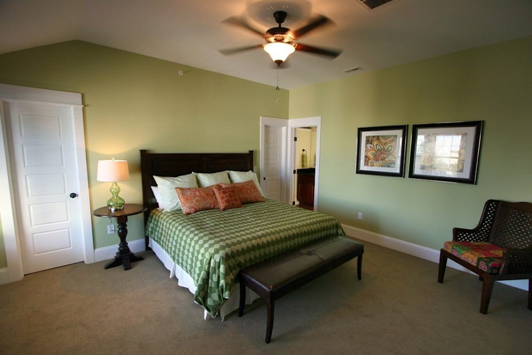 Master Bedroom Modern Bedroom by Outer Banks Renovation & Construction Modern