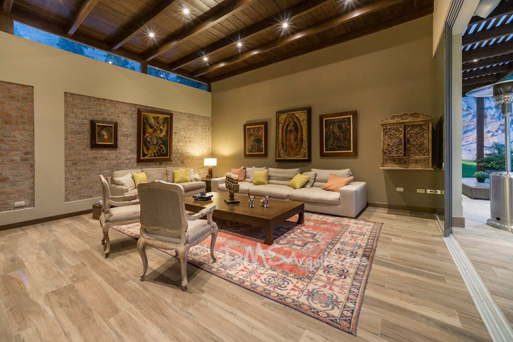 Casa en cieneguilla casas de estilo por dms arquitectas for Paginas de diseno de casas